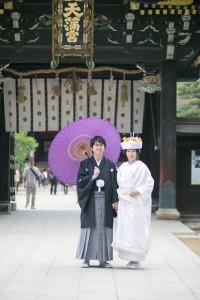 北野天満宮結婚式 レポート