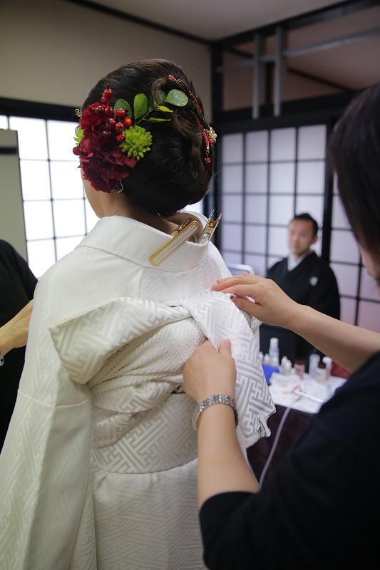結婚式の裏側♡お支度シーン