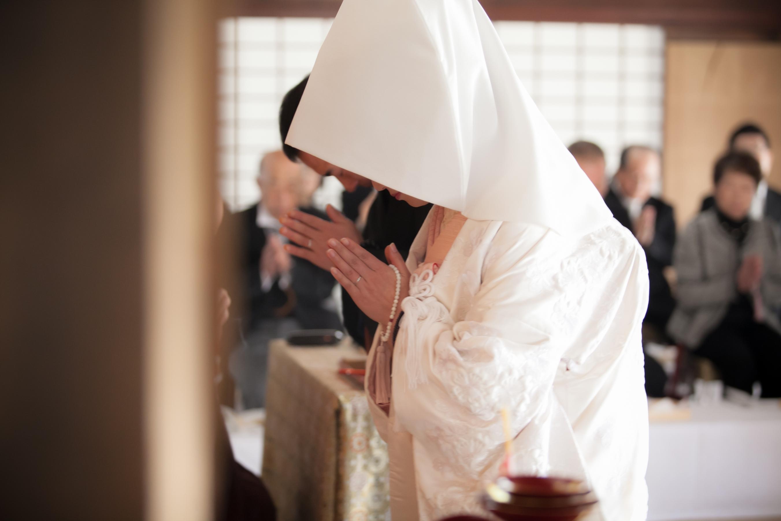 妙心寺退蔵院での結婚式レポート更新しました♪ 【2016.1.11挙式】