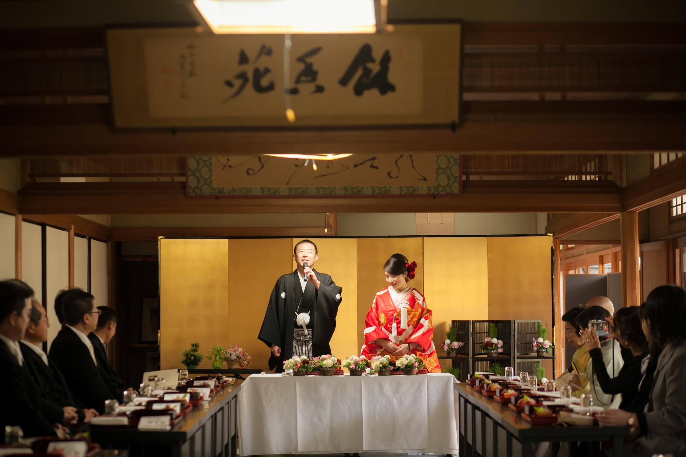 【妙心寺退蔵院結婚式】感謝の想いと涙の披露宴!