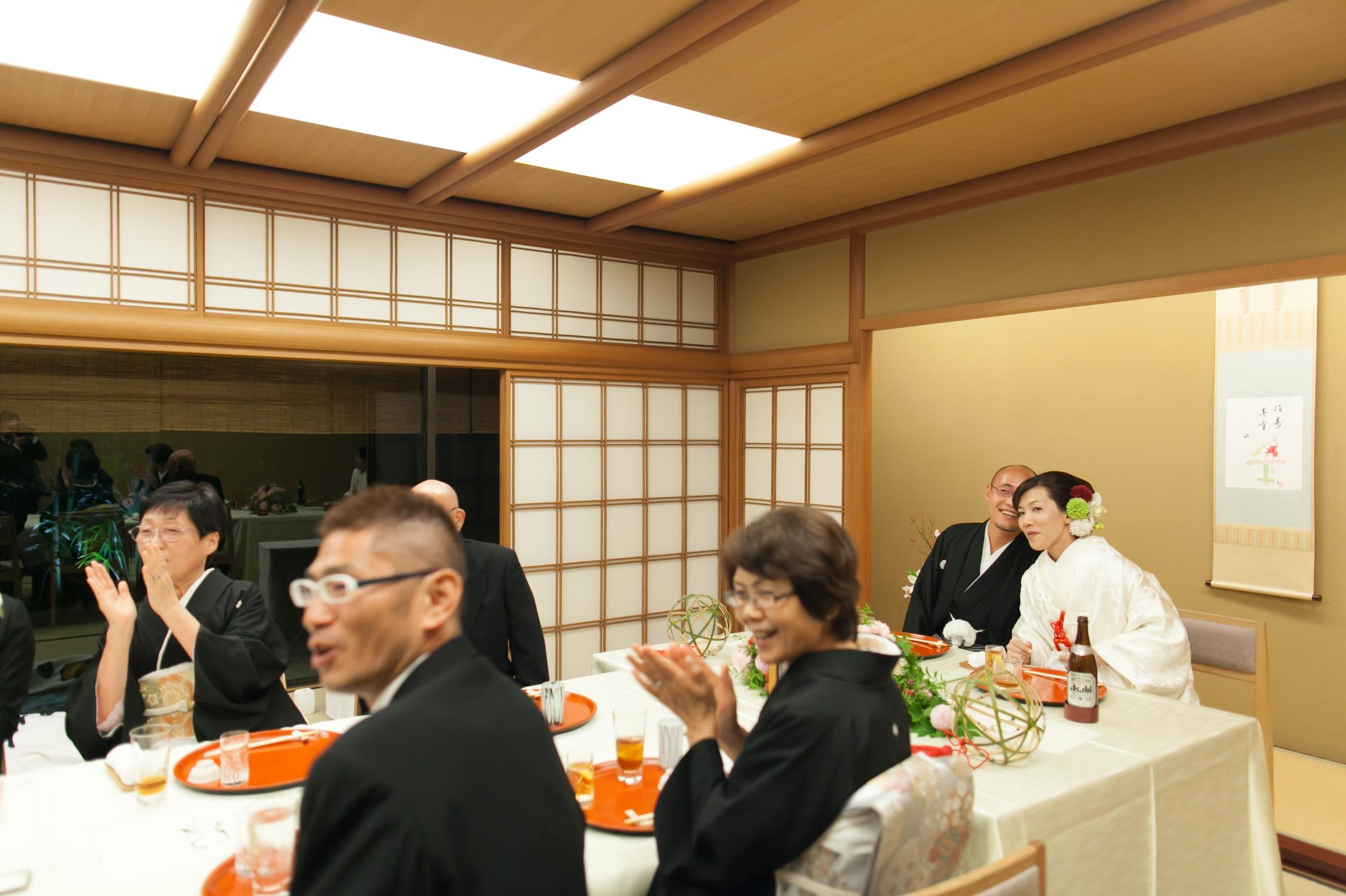 【京都和婚特集】少人数の結婚式には笑顔がいっぱいです!