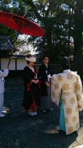 【結婚式レポート】漆黒の花嫁衣裳での挙式