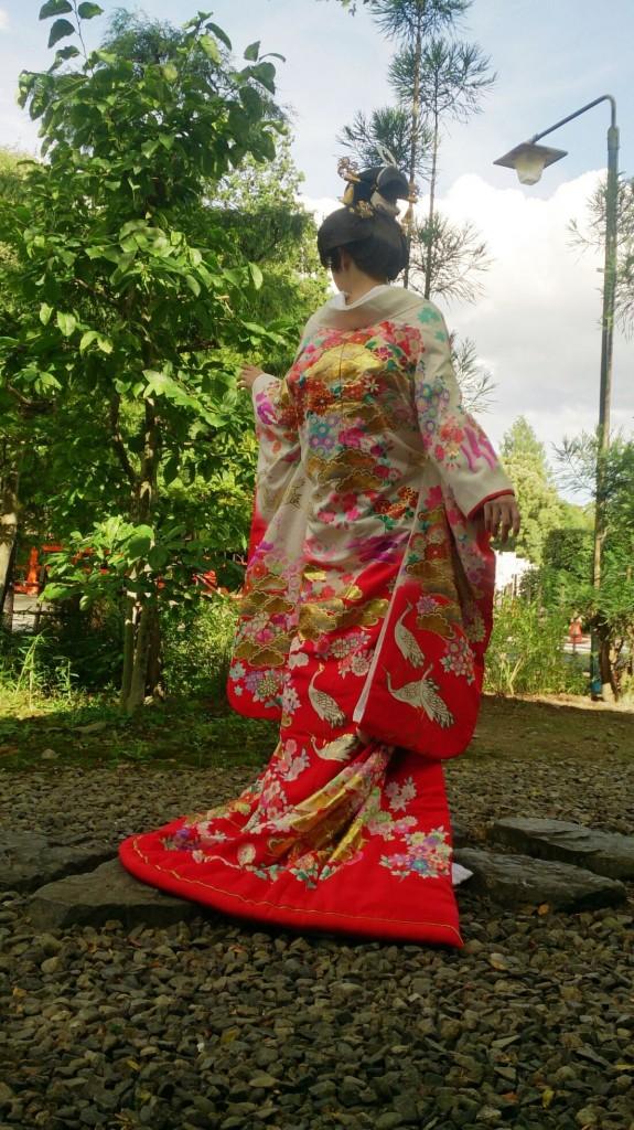 友禅丸章さんの衣裳撮影に行って参りました!