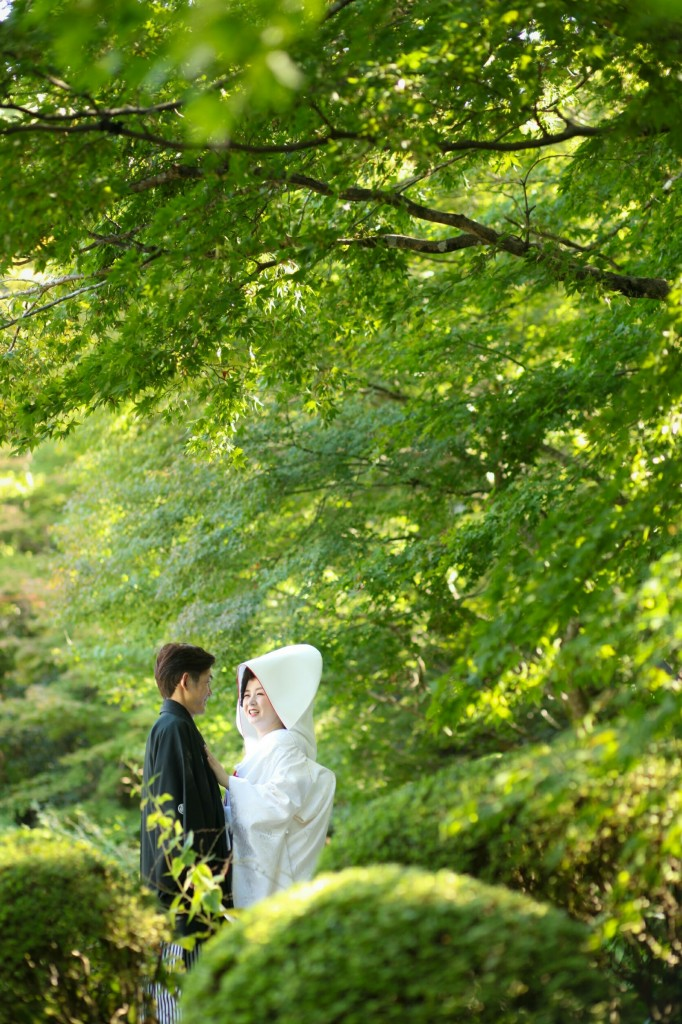 京都和婚レポート♡【八大神社結婚式】