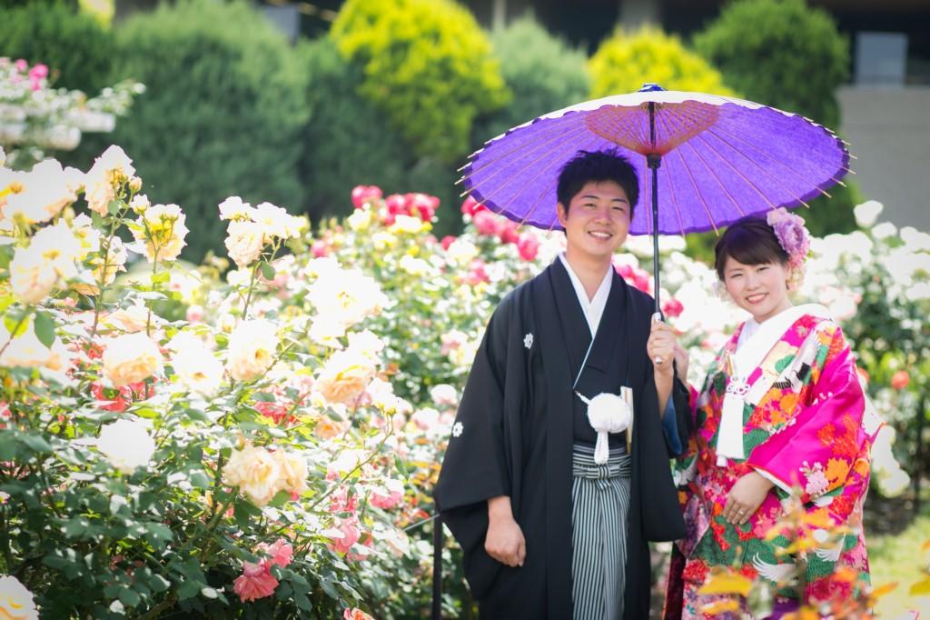 【京都前撮りレポート】自然に囲まれたい!花嫁の願いです♪
