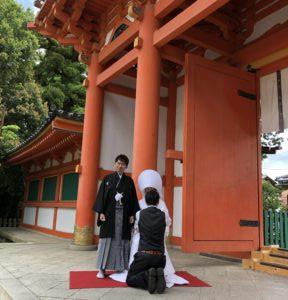 薫風そよぐ京都・紫野結婚式