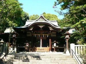 京都東山 東天王 岡崎神社の結婚式