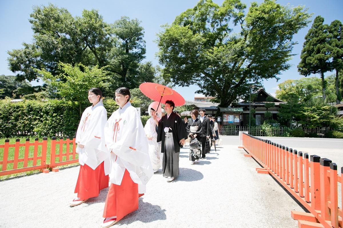 京都・上賀茂神社の挙式レポート♡