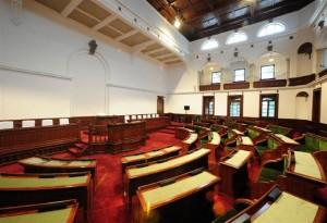 京都府庁旧本館 旧議場が3月1日より結婚式でも利用可能♪