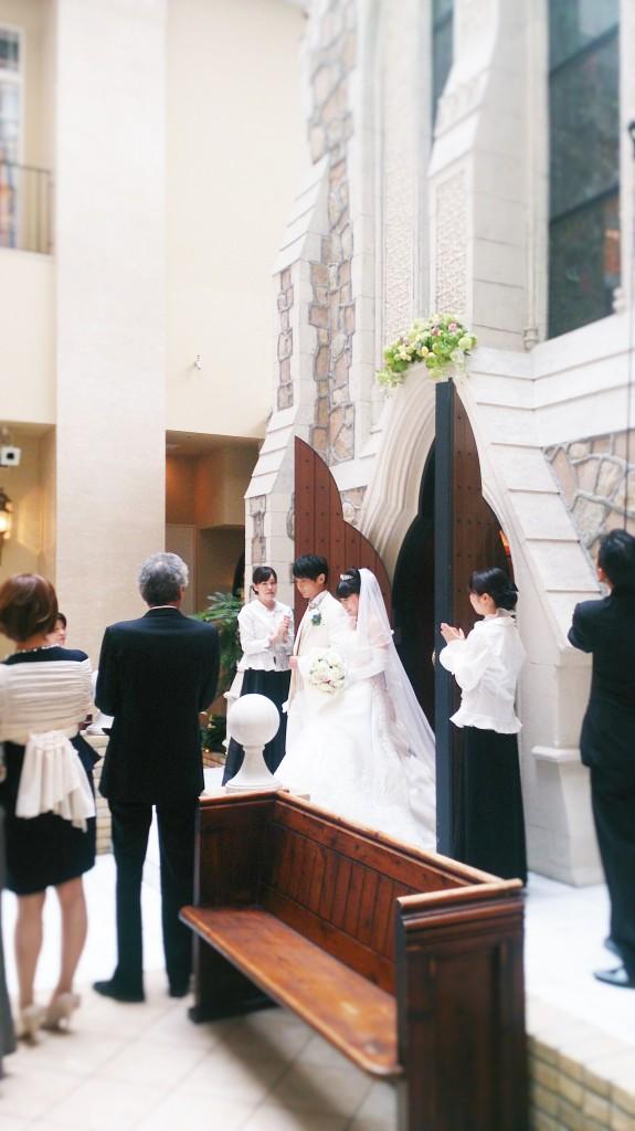 【京都チャペル結婚式】ホテルモントレ京都でのWedding♪