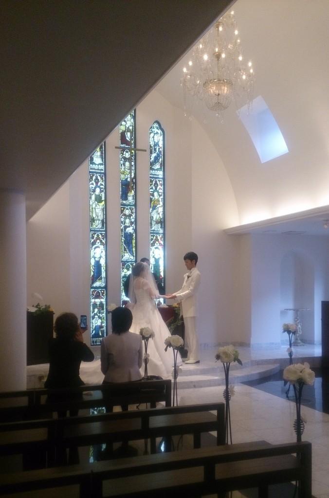 【京都森の教会】セントオーガスティン教会での結婚式
