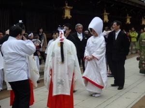 【挙式レポート】国宝本殿で誓う北野天満宮挙式