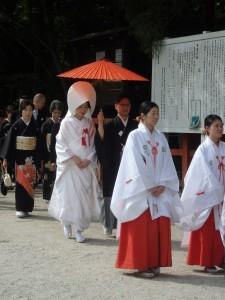 【京都結婚式レポート】大好きなお2人の上賀茂神社挙式&竹茂楼披露宴♪