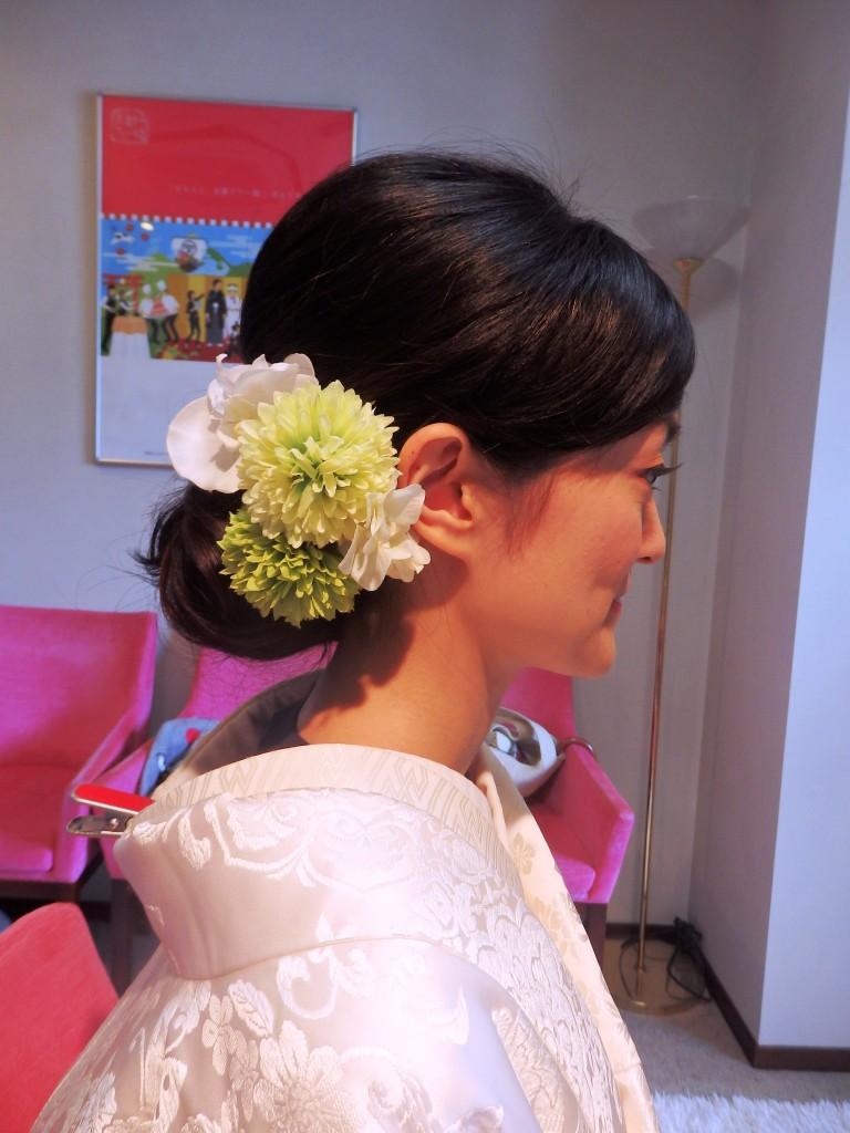 【京都和婚準備】必須です!ヘアメイクリハーサル!
