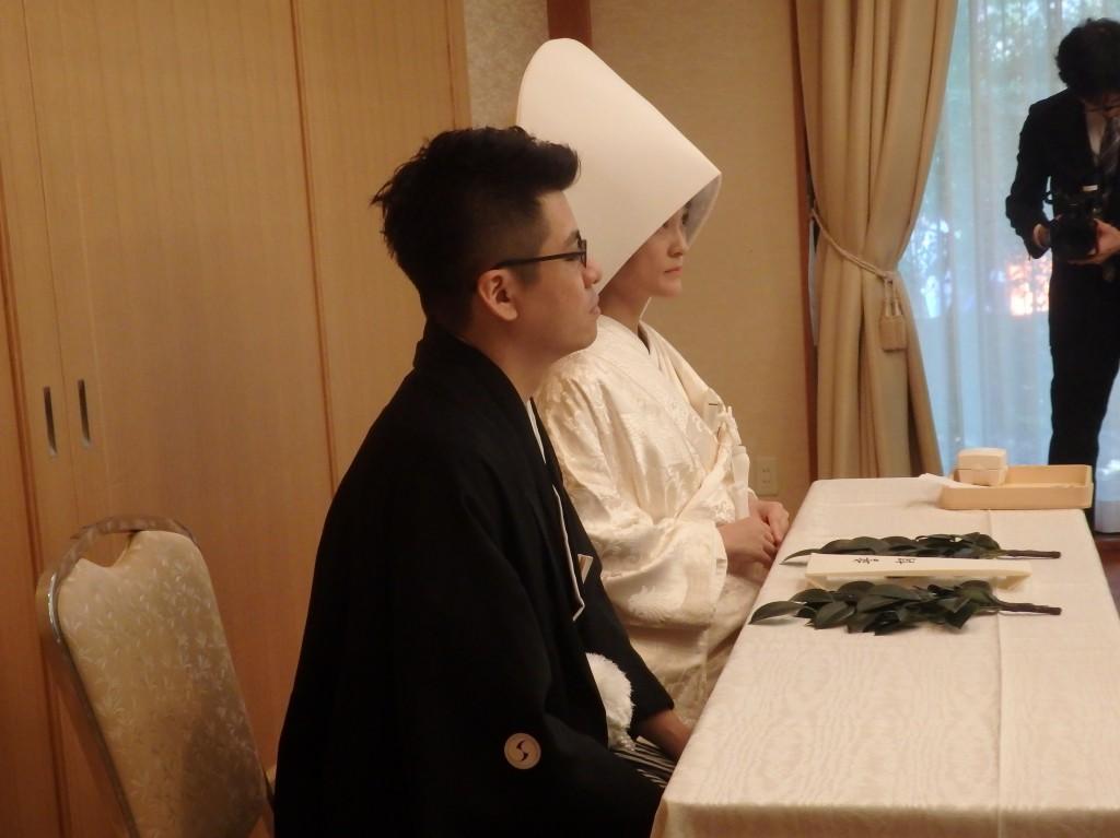 【京都下鴨神社結婚式】境内から歓声が上がりました!