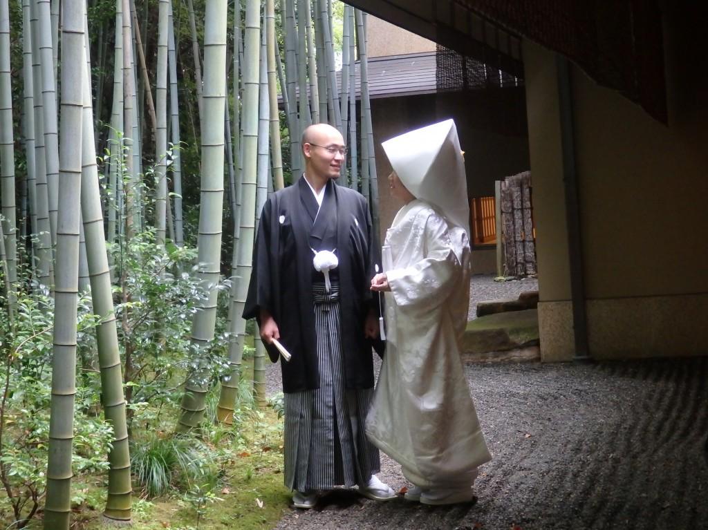 【京都仏前式】青蓮院結婚式 ~お支度・出発編~