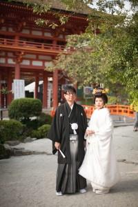 上賀茂神社・愛染倉での結婚式