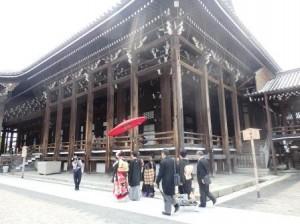 【京都結婚式レポート】西本願寺での挙式♪