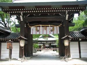 京都 和婚 白峯神宮での結婚式