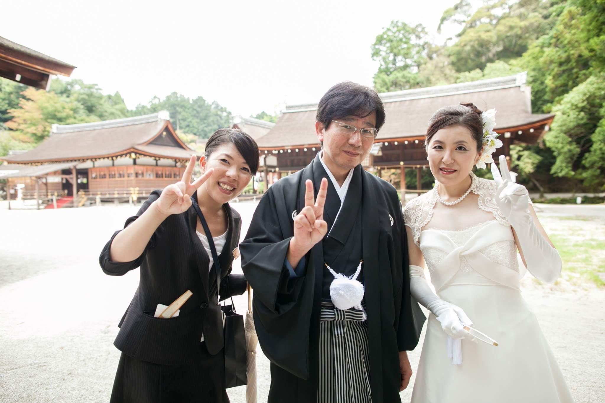 京都『汗』選手権開催?!【速報】上賀茂神社結婚式レポート!